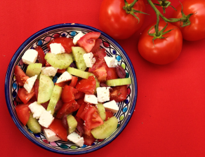 Greek Salad - Blog 1